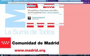 twitter Esperanza Aguirre