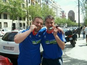 Maratón de Madrid junto a Raul